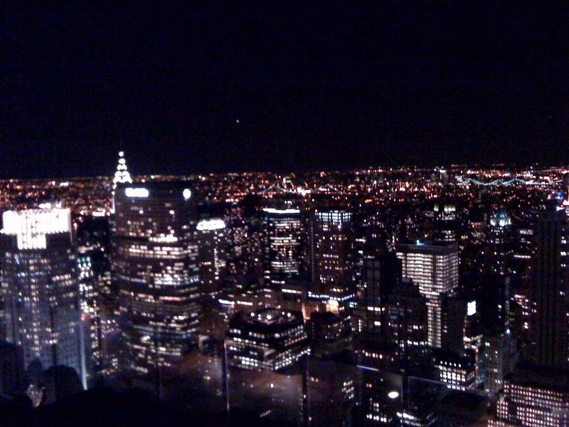 More NYC Skyline from 30 Rock
