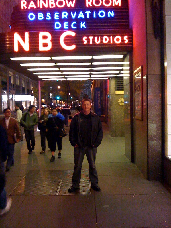 Outside NBC Studios