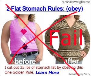 Flat Stomach Fail