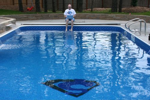 Shoemoney's Swimming in Pool